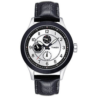 Timex Quartz White Round Men Watch TI000I70600