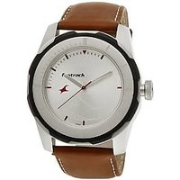 Fastrack Quartz White Round Men Watch 3099SL01