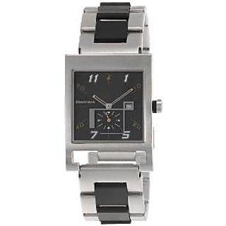 Fastrack Quartz Black Dial Mens Watch-1478SM01
