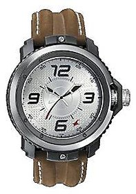 Fastrack Quartz Silver Dial Mens Watch-38017PL02
