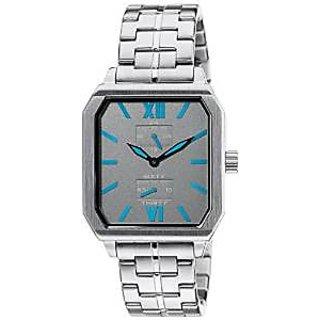 Titan Quartz Grey Dial Mens Watch-1643SM02