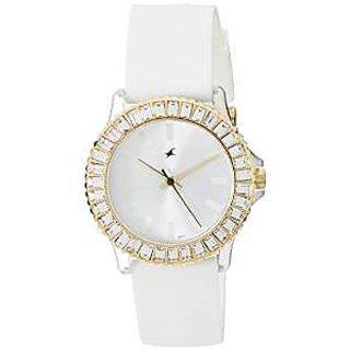 Fastrack Quartz White Dial Women Watch-9827PP01