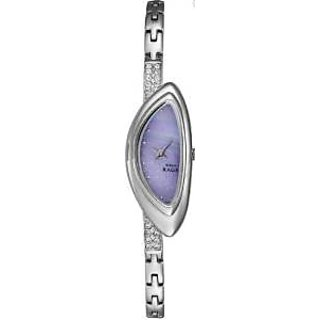 Titan Quartz Purple Dial Women Watch-9934SM01