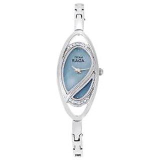 Titan Quartz Blue Dial Women Watch-9935sm01