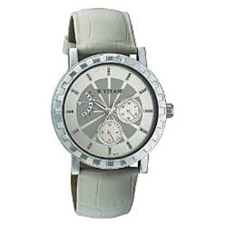 Titan Quartz Multi Dial Women Watch-9741SL02