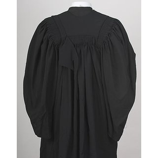 Convocation And Advocate Spun And Polyester Gown