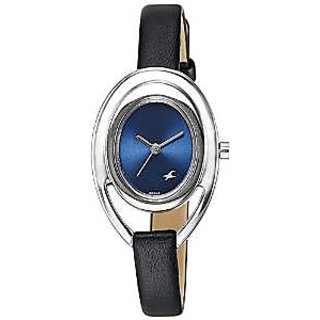 Fastrack Quartz Blue Dial Women Watch-6090SL02