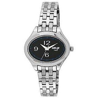 Helix Quartz Black Dial Women Watch-TW029HL04