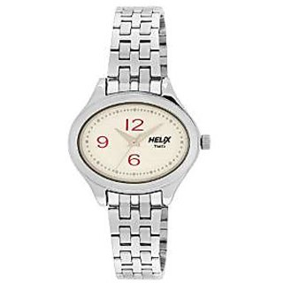 Helix Quartz Silver Dial Women Watch-TW029HL05