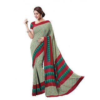 Latest Beautiful Designer Printed Saree