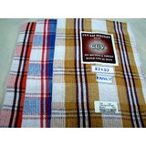 SOUTH INDIAN PURE COTTON BATH TOWELS--a Set Of Three Towels--size 25 X 54 Inches