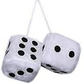 snatch4deals car 3d dice perfume best quality dice  for hanging