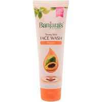 Banjaras Papaya Face Wash 100Ml