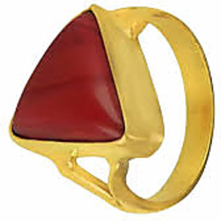 only 4 you 7.25 RATTI RED CORAL STONE RING BUY ONLINE