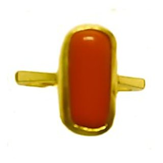 7.25 RATTI RED CORAL STONE RING BUY ONLINE
