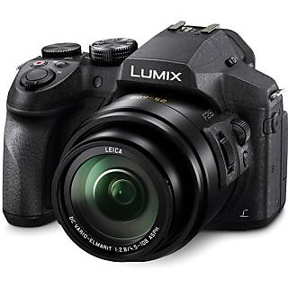 Panasonic 4K 12.1MP High Sensitivity MOS Sensor Lumix DMC-FZ300 25-600mm f2.8 Constant Aperture Zoom Camera