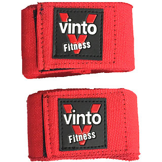 VINTO RED BOXING BANDAGE HAND WRAPS 2.75 METERS SET OF 2 PCS