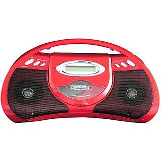 Zebronics CD 100 Boom Box (Plays Audio CD, MP3, FM, AM) - Amazing Deal Price