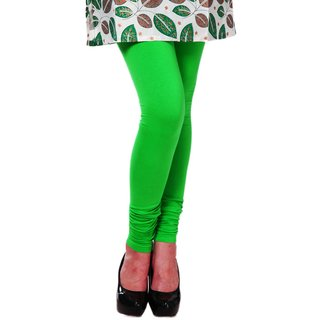 PeePee Cotton Lycra Legging - Light Green - Free Size