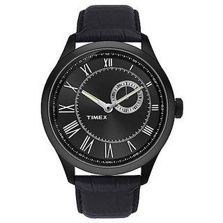 Timex Quartz Black Round Men Watch TWEG14603
