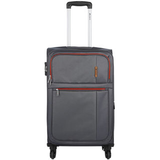 Safari Hush 75 Grey 4 Wheel Trolley