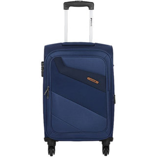 Safari Korrekt 75 Blue 4 Wheel Trolley