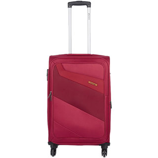 Safari Korrekt 75 Red 4 Wheel Trolley