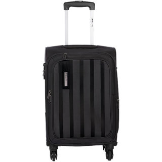 Safari Lino 55 Black 4 Wheel Trolley