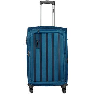 Safari Lino 55 Blue 4 Wheel Trolley