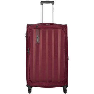 Safari Lino 75 Red 4 Wheel Trolley