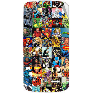Snooky Digital Print Mobile Skin Sticker For Intex Aqua SUPERB