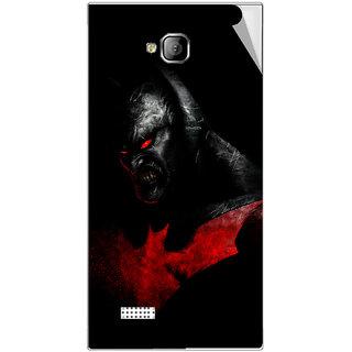 Snooky Digital Print Mobile Skin Sticker For Intex Aqua Y2