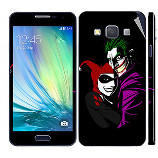 Snooky Digital Print Mobile Skin Sticker For Samsung Galaxy A3