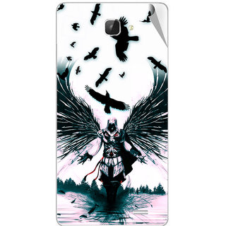 Snooky Digital Print Mobile Skin Sticker For Intex Aqua i5 HD