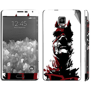 Snooky Digital Print Mobile Skin Sticker For Samsung Galaxy Note Edge
