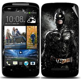 Snooky Digital Print Mobile Skin Sticker For HTC Desire 500