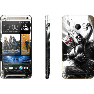 Snooky Digital Print Mobile Skin Sticker For HTC One M7