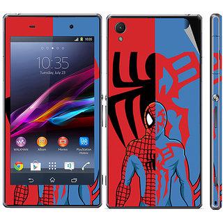 Snooky Digital Print Mobile Skin Sticker For Sony Xperia Z1