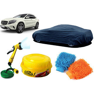 CreativeVia Car Cover, Formula1,Water Spary Gun, Hand Gloves For Mercedes Benz Gla Class
