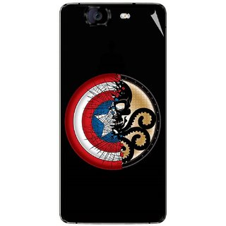 Snooky Digital Print Mobile Skin Sticker For Micromax Canvas Knight A350