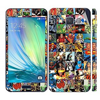 Snooky Digital Print Mobile Skin Sticker For Samsung Galaxy A5