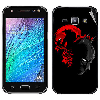 Snooky Digital Print Mobile Skin Sticker For Samsung Galaxy J1