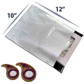Tamper Proof Courier Bags - With POD - Size 10x12- Pack of 100