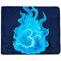 ShopMantra Blue Canvas Om Is Shiva Wallet