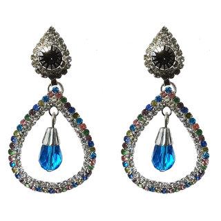 Multicolour Jhumki Earrings for Women - 10028.3