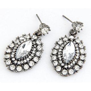 Shining Diva Non Plated Silver Dangle Earrings For Women-CFJ6977er