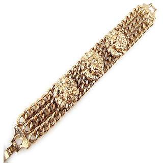 Shining Diva Non Plated Gold Charm Bracelets For Women-CFJ6261b