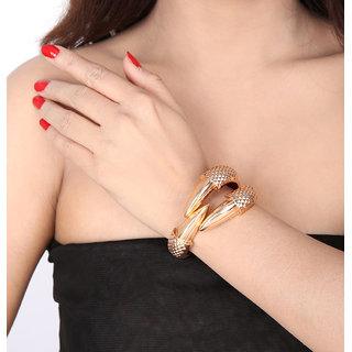 Shining Diva Non Plated Gold Charm Bracelets For Women-CFJ6273b