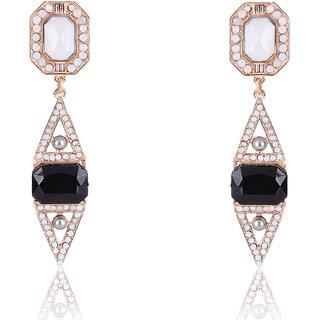 Shining Diva Non Plated Multi Dangle Earrings For Women-CFJ7007er