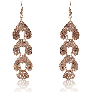 Shining Diva Non Plated Gold Dangle Earrings For Women-CFJ7012er